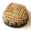 <B>Chameleon</B> Ply-Split Basket from the book <I>How to Make Ply-Split Baskets</I>