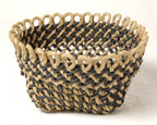 <B>Loopy</B> Ply-Split Basket from the book <I>How to Make Ply-Split Baskets</I>